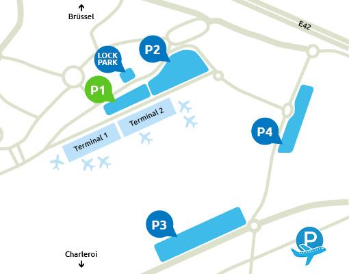 P1  Charleroi Airport