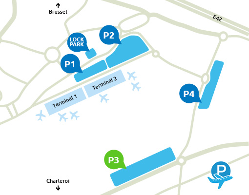 P3 Charleroi Airport