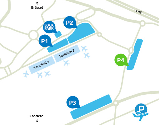 P4 Charleroi Airport