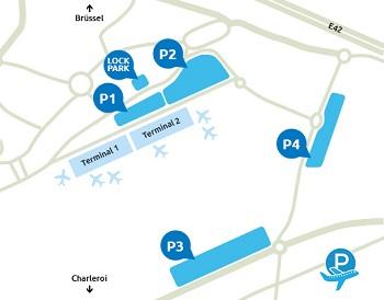 Parkeermogelijkheden Charleroi Airport